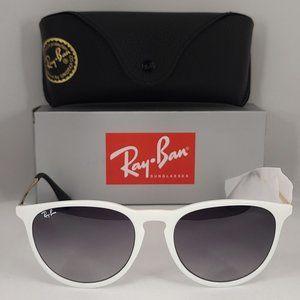 Ray Ban Erika White RB4171 Grey Lenses